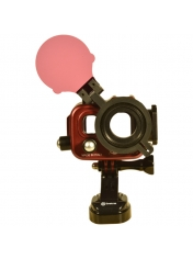 Isotta Redfilter flipadapter for GoPro housing